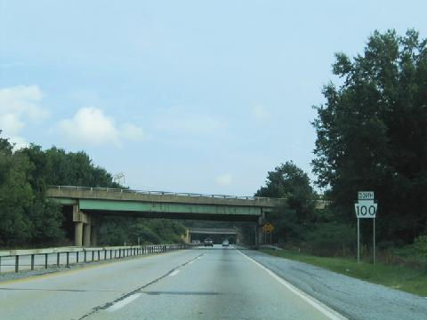 W Chester Bypass PA 100 corridor, particularly along the section from the Exton Bypass ...